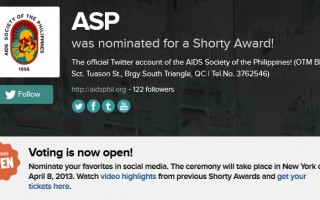 We're nominated for a Twitter Shorty Award for #SocialFitness
